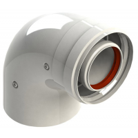 Колено коаксиальное 90 80/110 Bosch 7719001786