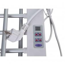 Сушилка для белья электрическая Qtap Breeze (SIL) 57702 с терморегулятором