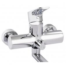 Смеситель для ванны Qtap Flaja 3210102GC