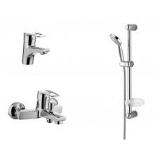 Набор смесителей для ванной комнаты Imprese Lidice