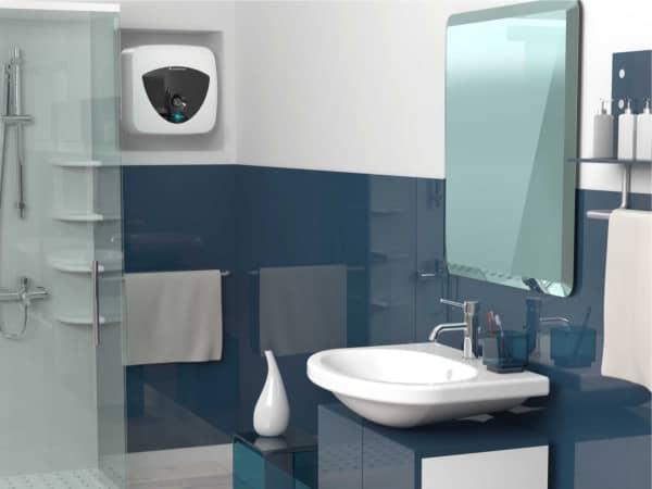 Бойлер Ariston ANDRIS LUX 6 OR в ванной комнате